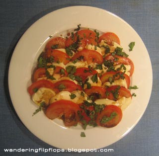 Photo of my Insalata Caprese