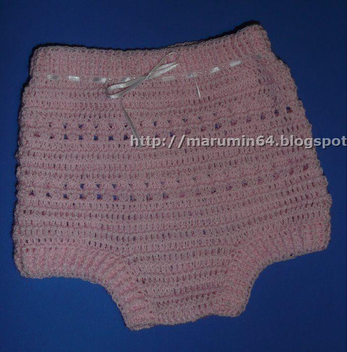 Marumin Crochet: CALZONCITO BASICO / BASIC PANTIES