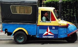 old bemo in Jakarta