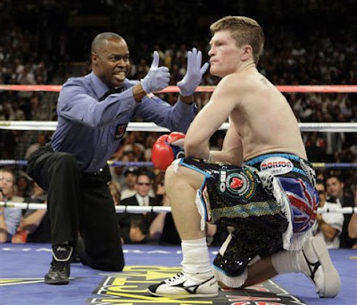 Manny Pacquiao versus Ricky Hatton Result