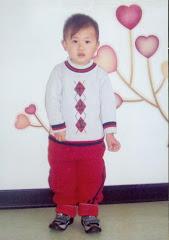 Levi at Children's Welfare Institute in Beijing, China