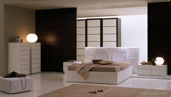decoración de interiores estilo japones:En las fotos se observa la combinación de muebles contemporáneos con
