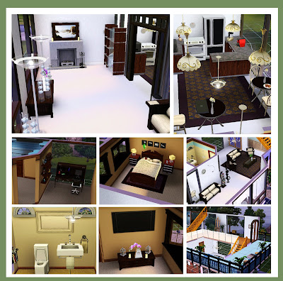 Home sweet blahhhs our little world in sims 3 for Sims interior designs 1