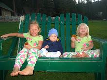 Elsie (5), Carson (2 1/2), Tobin (10 months)