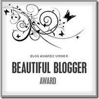 My 1st Blogger Award
