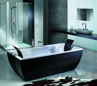 bathtub toto sudut luxury design modern minimalist idea