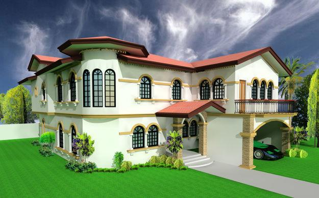 Beautiful 3D Home Design