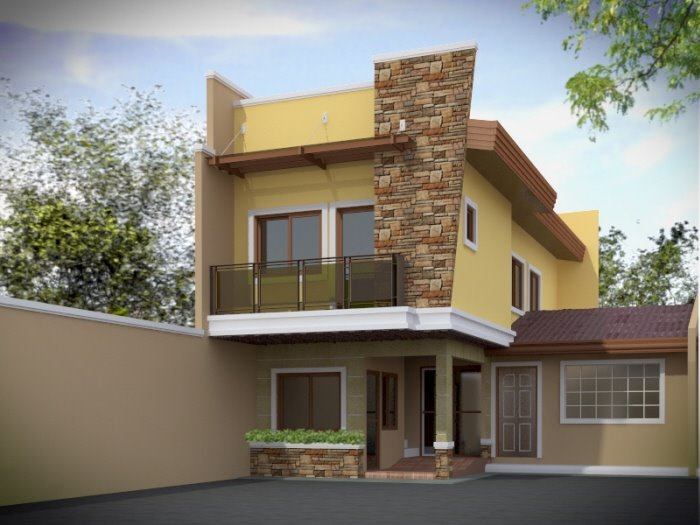 Simple Beautiful Home Designs in Sri Lanka