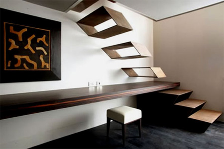 staircase flying design ideas
