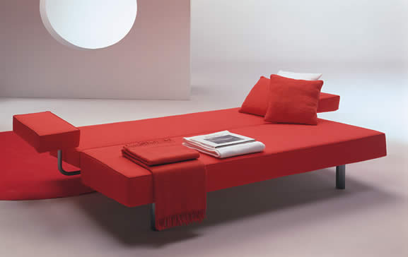 Luxury Sofa Design With Red