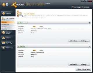 Download Avast Free Antivirus 5.0 Beta