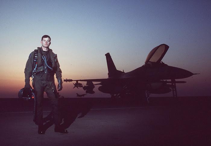 Fighter Pilot Capt Mike Wang (April 1996)