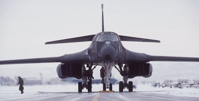 Check Ride on B-1B Lancer