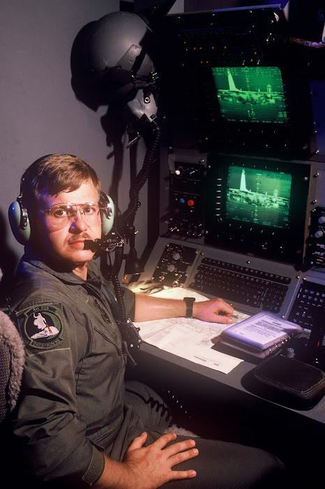 TSgt Clay Watson, Sensor Operator, AC-130 Gunship