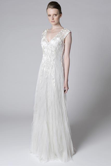 Весільні сукні alberta ferretti bridal collection