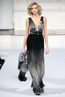 oscar de la renta osen zima 2010 2011 2 Вечірні сукні (фото). Вечірні плаття від знаменитих Будинків Мод