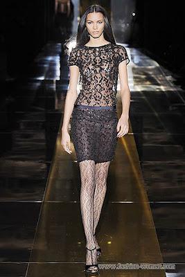 gucci osen zima 2010 2011 4 Вечірні сукні (фото). Вечірні плаття від знаменитих Будинків Мод