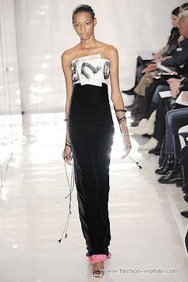 chado ralph rucci osen zima 2010 2011 1 Вечірні сукні (фото). Вечірні плаття від знаменитих Будинків Мод