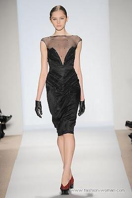dennis basso osen zima 2010 2011 3 Вечірні сукні (фото). Вечірні плаття від знаменитих Будинків Мод