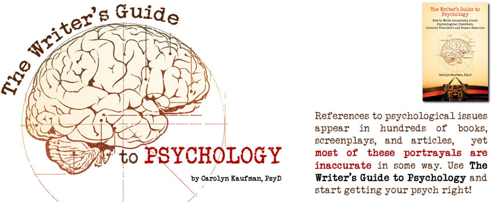 The Writer's Guide to Psychology