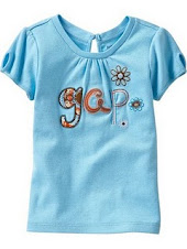 BABYGAP TEE - BLUE ( RM20 )