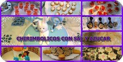 CHIRIMBOLICOS CON SAL Y AZUCAR