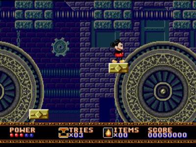 mikey mouse castillo ilusion