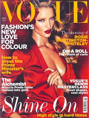 rosie huntington whiteley vogue. Rosie Huntington-Whiteley