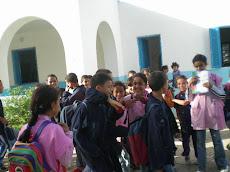 les élèves en cours