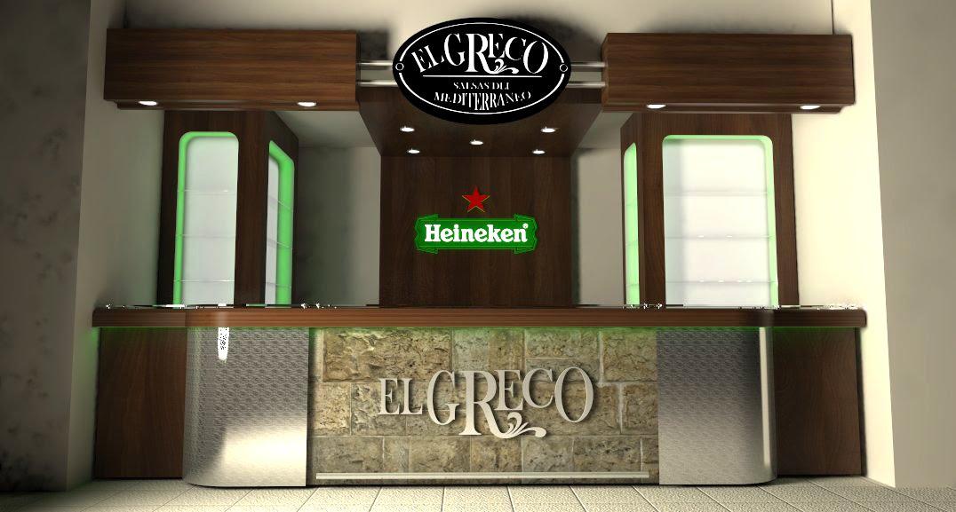 Artefacto Studios Barra Restaurante Bar El Greco