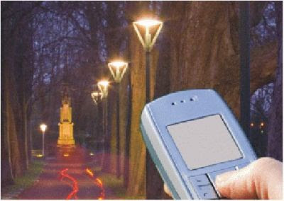 Phone Controlled Street Lights Saves Energy