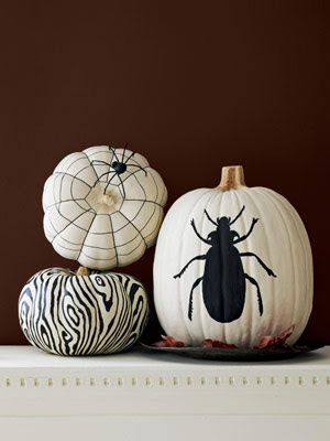 A Blonde Ambition Trendy Pumpkin Decorating Ideas