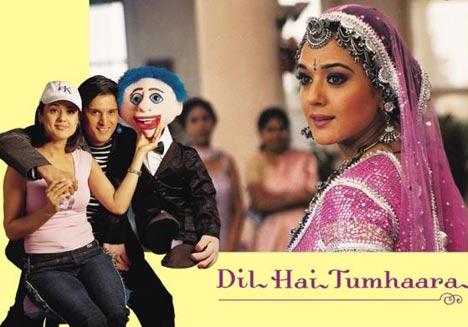 Film Dil Hai Tumhaara Lagu