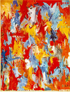 Jasper Johns: White Flag (1998.329) | Heilbrunn Timeline of Art