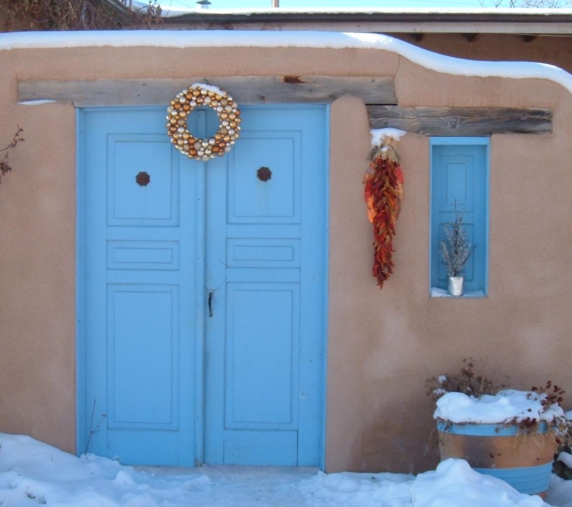 Taos Blue Paint Color