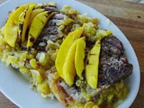 Mango Pork Chops