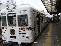 和歌山電鐵「招き猫」のたま電車