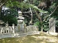 秀吉の側室松ノ丸殿と国松の五輪塔