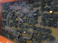 閼伽井護法善(あかいごほうぜん)神社の上にある龍