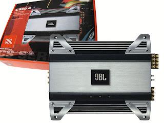 JBL 4 Channel 320W Amplifier