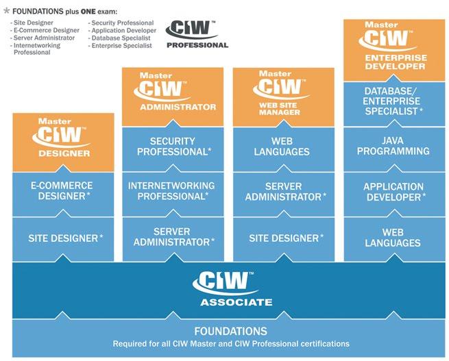 Ciw Web Design Professional