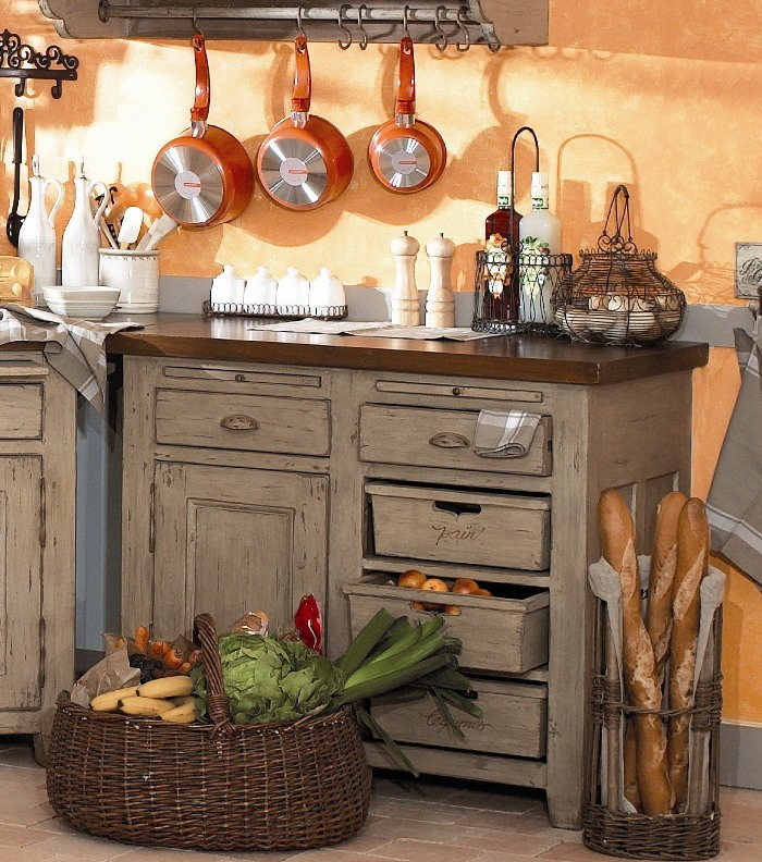 20 Ways To Create A French Country Kitchen: The Art Of French Style: Creating A French Country Kitchen