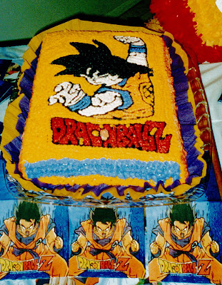 Karys Cakes Cake Dragon Ball Z