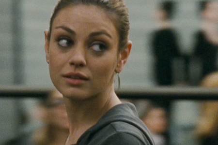 mila kunis black swan hair