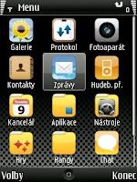 iPhone theme - krásné grafické téma pro symbian