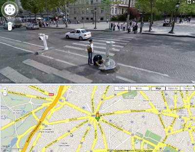 Google Street View a NORC