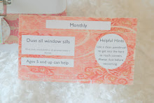 Sample Chore Card