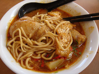 Mee Kari for Sunday breakfast at Kaya & Toast