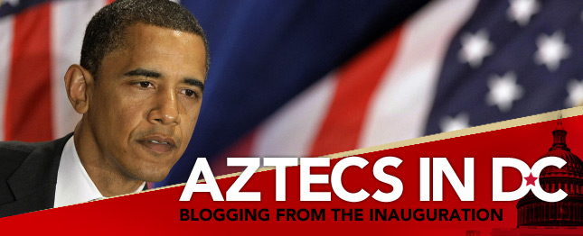 Aztecs in DC: Blogging from the Inauguration