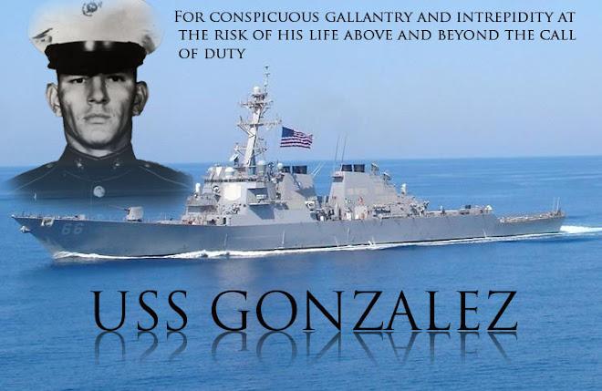 USS GONZALEZ (DDG 66)